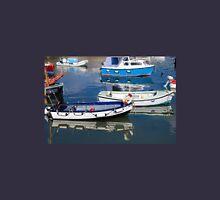 Lyme Regis Harbour Reflections - July Unisex T-Shirt