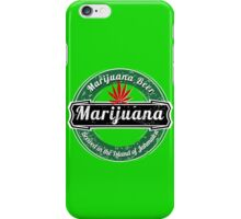 MARIJUANA BEER  iPhone Case/Skin