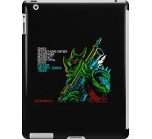 Rex - 80's video games iPad Case/Skin