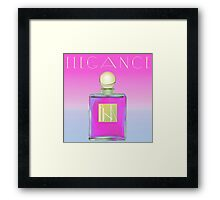 Pink Perfume Scented Colors Framed Print