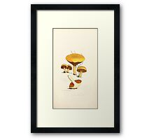 Coloured figures of English fungi or mushrooms James Sowerby 1809 0127 Framed Print
