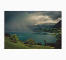 Arising storm over lake lucerne One Piece - Short Sleeve