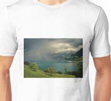 Arising storm over lake lucerne Unisex T-Shirt