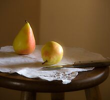 Still life with pears by Margarita K