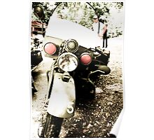 Rare Army Issue Motorcycle Poster