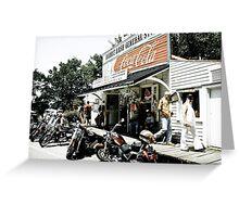 Biker Heaven Greeting Card