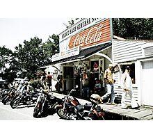 Biker Heaven Photographic Print