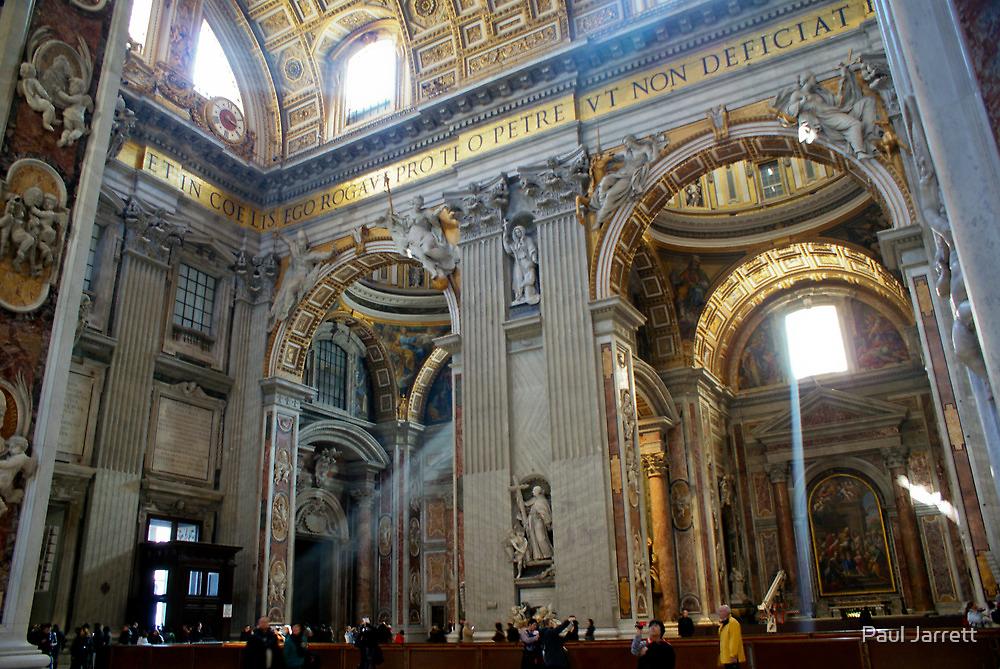 Church in Vatican, Rome by Paul Jarrett