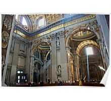 Church in Vatican, Rome Poster