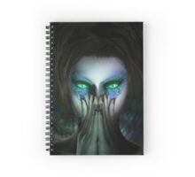 Psyche's Eyes Spiral Notebook