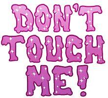 Don't Touch Me! (purple) by LysandreBabbit
