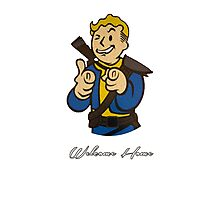 Fallout 4 Vault Boy Photographic Print