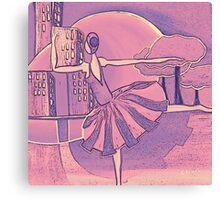 Dreams of the big city Remix Canvas Print
