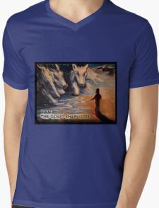 THE GOOD SHEPHERD Mens V-Neck T-Shirt