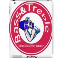 Bass & Treble iPad Case/Skin