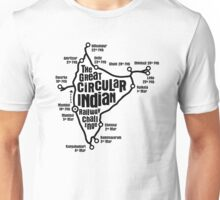The Great Circular Indian Railway Challenge Unisex T-Shirt