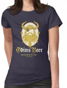 Buy Odin's Beer Womens Fitted T-Shirt