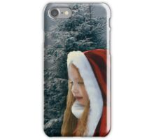 White Winter Hymnal iPhone Case/Skin