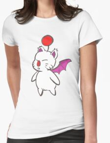 Final Fantasy Mog Womens Fitted T-Shirt