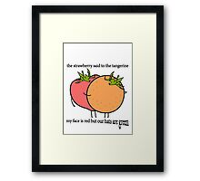 Bullet to the Binary Framed Print