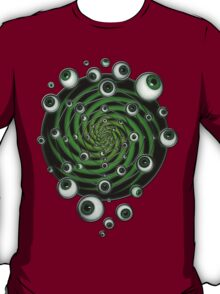 EMERALD PSY EYE by conor graham Ethereal C2010. T-Shirt