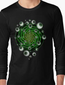 EMERALD PSY EYE by conor graham Ethereal C2010. Long Sleeve T-Shirt