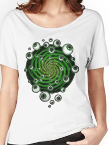 EMERALD PSY EYE by conor graham Ethereal C2010. Women's Relaxed Fit T-Shirt