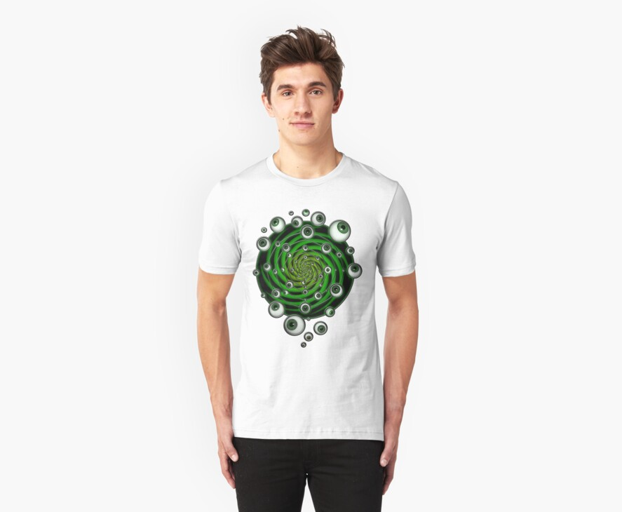 EMERALD PSY EYE by conor graham Ethereal C2010. by ETHEREAL