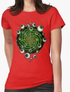 EMERALD PSY EYE by conor graham Ethereal C2010. Womens Fitted T-Shirt