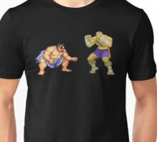 Street Fighter E.Honda vs. Sagat Unisex T-Shirt