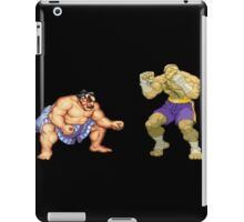 Street Fighter E.Honda vs. Sagat iPad Case/Skin