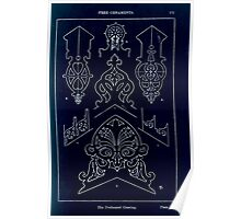 A Handbook Of Ornament With Three Hundred Plates Franz Sales Meyer 1896 0187 Free Ornaments Perforated Cresting Inverted Poster