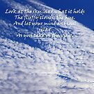 Clouds Greeting Card by sarnia2