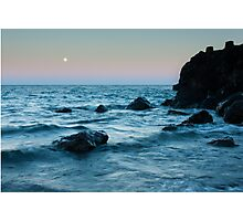 Sunset at Agate Beach Photographic Print