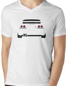Nissan GTR R33 White Mens V-Neck T-Shirt