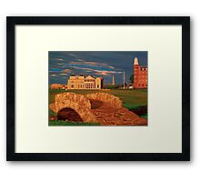 Eighteen at St Andrews Framed Print