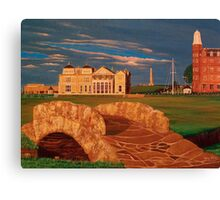 Eighteen at St Andrews Canvas Print