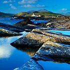 Cromwell Point Lighthouse, Valentia Island by Stefan Schnebelt