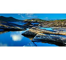 Cromwell Point Lighthouse, Valentia Island Photographic Print