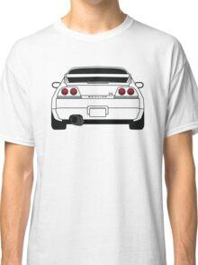 Nissan GTR R33 Black Classic T-Shirt