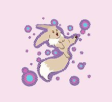 Cute Happy Shiny Eevee by MashaTate