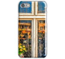 reflection in the window iPhone Case/Skin