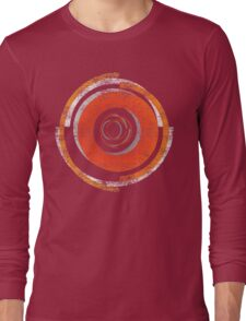 Broken In Circles and Off-centered Long Sleeve T-Shirt