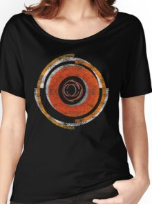 Broken In Circles and Off-centered Women's Relaxed Fit T-Shirt