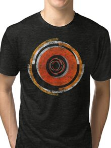 Broken In Circles and Off-centered Tri-blend T-Shirt