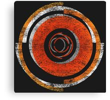 Broken In Circles and Off-centered Canvas Print