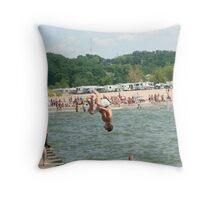PierObatics Throw Pillow