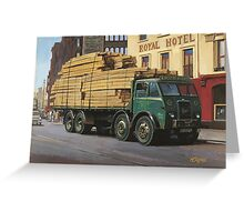 Foden DG 1946. Greeting Card