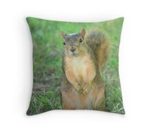 Don't Forget the Peanuts! Throw Pillow