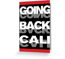 GOING GOING Greeting Card